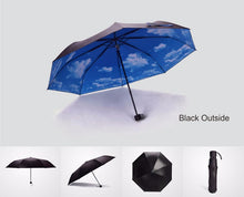 Load image into Gallery viewer, Nothing But Blue Skies Umbrella (plain style)