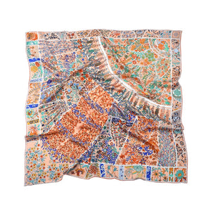 Palace Garden Large Wrap Scarves 100% Silk