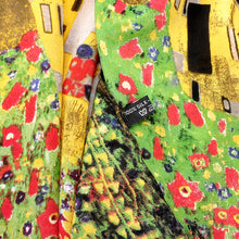 "Load image into Gallery viewer, Gustav Klimt ""The Kiss"" Silk Scarf"