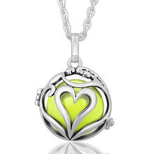 Load image into Gallery viewer, Love Embrace Angel Caller Locket Pendants Silver Plated