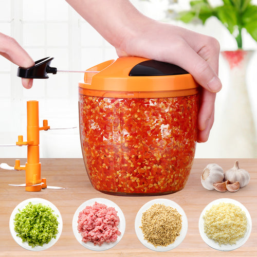 Portable Manual Chopper/Blender/Meat Grinder No Electricity DIY