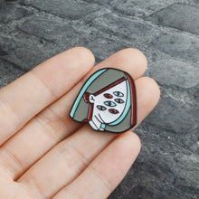 Load image into Gallery viewer, Many Eyes Mama Enamel Pin