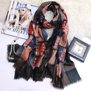 Shipping Container Winter Cashmere Scarf