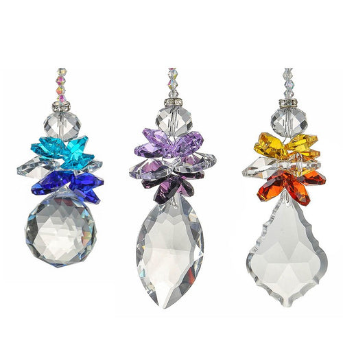 Angel Sister Crystal Suncatchers