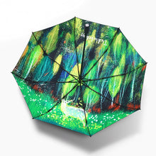 Load image into Gallery viewer, Magic Forest Elk Umbrella