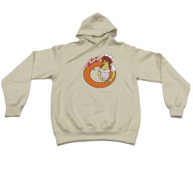 Pauer Minute Man Tan Cotton Hoody