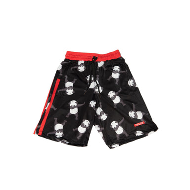 Pauer Dabbing Panda Sport-Stretch Graphic Short