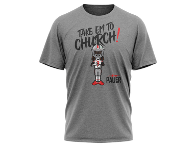 Take Em To Church Tri Blend Tee