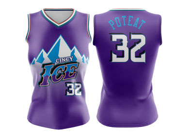 WOMENS REVERSIBLE BASKETBALL JERSEY