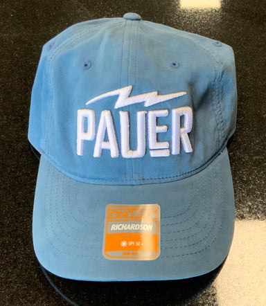 Pauer Strapback hat Denim Blue