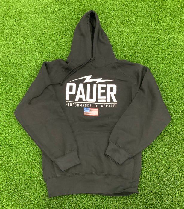 Pauer Performance Hoody Black