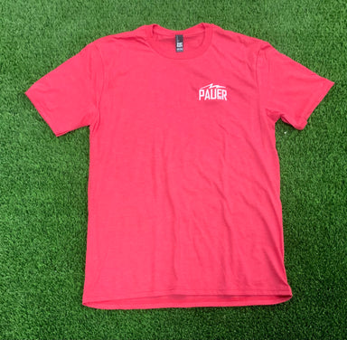 Pauer Left Chest Logo Tee