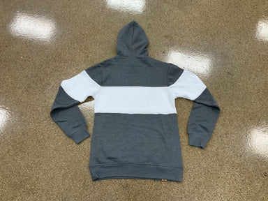 Pauer Varsity Charcoal Hooded Sweatshirt