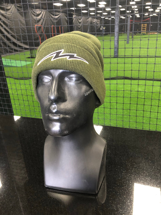 Bolt Beanie Solid Color