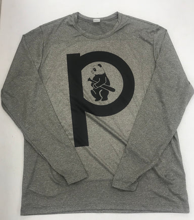 Pauer Panda Grey Long Sleeve
