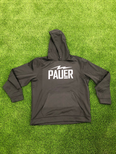 Pauer Bolt Black Dry Fit Hoody