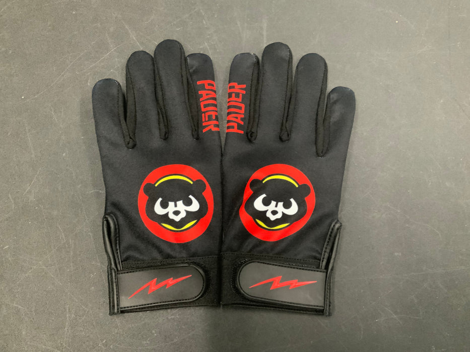 Pauer Panda Black Batting Gloves
