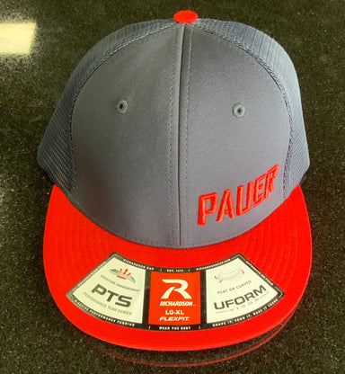Pauer Navy/Red PTS20 Mesh