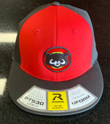 Pauer Panda Red/Blk/Blk PTS30