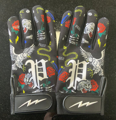 Pauer Wild Life Full Dye Sublimated Batting Gloves