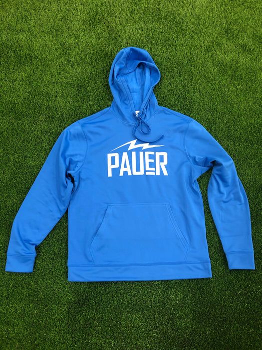 Pauer Bolt Royal Dry Fit Hoody
