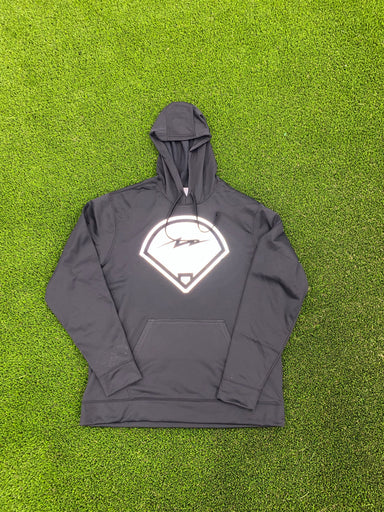 Pauer Ball Diamond Performance Fleece Hooded Sweatshirt
