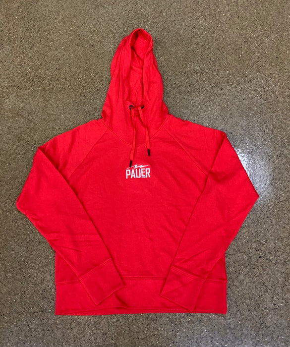 Pauer Womans Red Hoodie