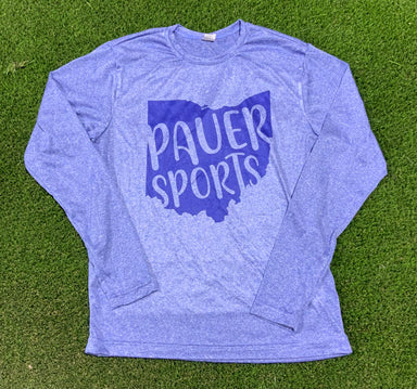 Pauer Blue Ohio Long Sleeve