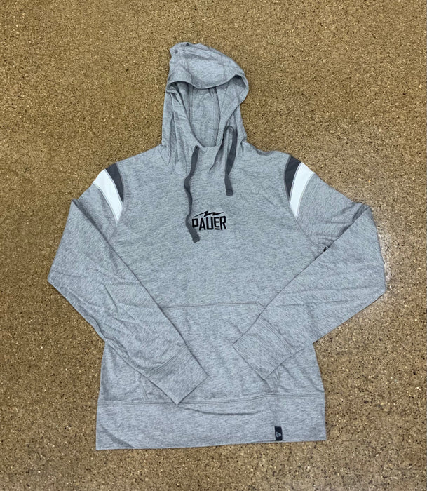 Pauer Womans Grey New Era Hoodie