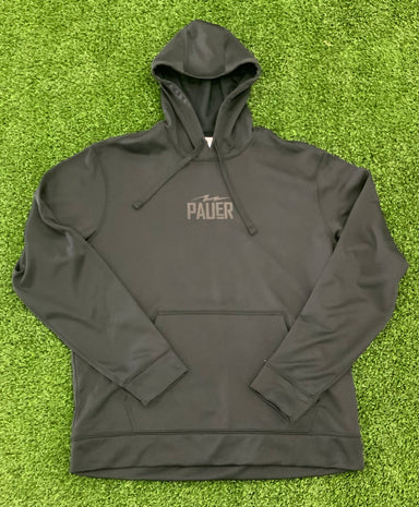 Pauer 3D Puff Dry Fit Hoody Black