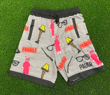 Christmas Story Sport-Stretch Graphic Short