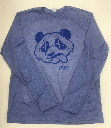 Pauer Blue Panda Long Sleeve