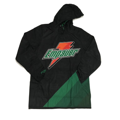 EmPauer Black Full-Dye Sublimated Fleece Hoodie