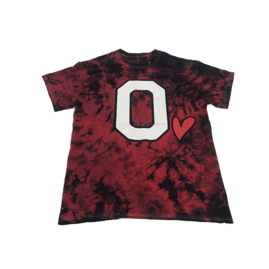 Ohio Love Tee Shirt Red