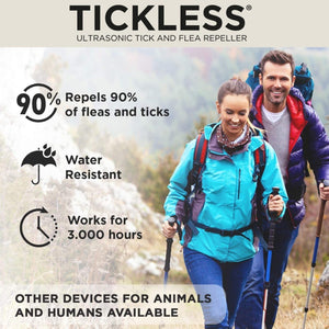 SonicGuard Tickless Ultrasonic Repeller for Humans | Wearable Tick Control and Prevention - FlexTran Animal Care