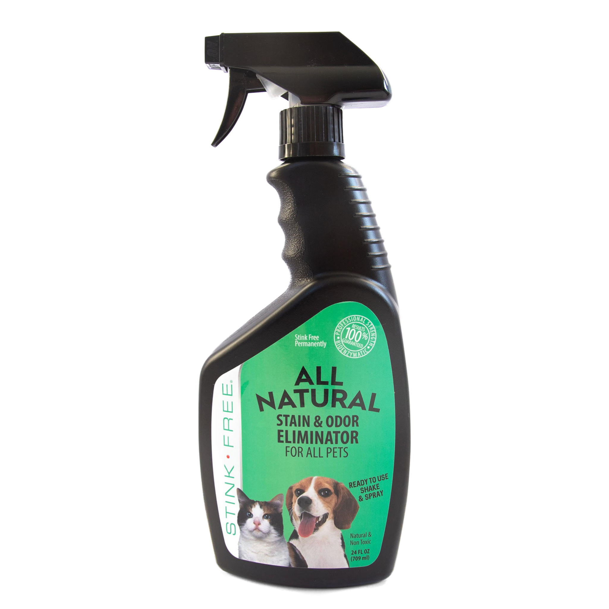 All Natural Stain & Urine Odor Eliminator for Pets (24 oz. Application Spray Bottle)