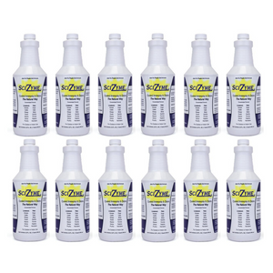 SciZyme - Fresh 500 Concentrate - Enzyme Based Eliminator & Control Odors & Ammonia in Cooler Rooms, Barns, Trailers, Kennels, Concrete. - FlexTran Animal Care