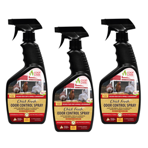 Chick Fresh - Eliminate Odors & Ammonia For Backyard Chickens - FlexTran Animal Care