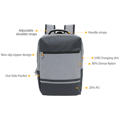 New Design Classic USB Backpack for Men