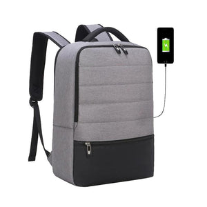 Men's Fashion Laptop Bag with USB Charging Slot