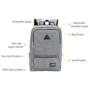 High Capacity Fashion Backpack Laptop Bags for Men