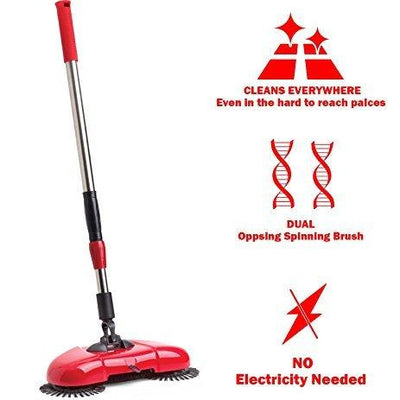 SPIN SWEEPER BROOM