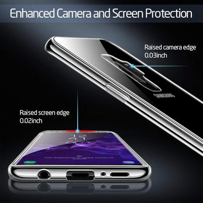 Ultra Slim Scratchproof Hard Back Cover for Samsung Galaxy S9 /S9 (Transparent)