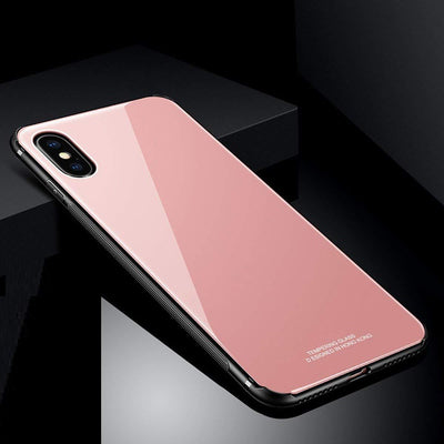Hybrid Shell Slim Case for iPhone X,& Xs iPhone 10 (Pink)