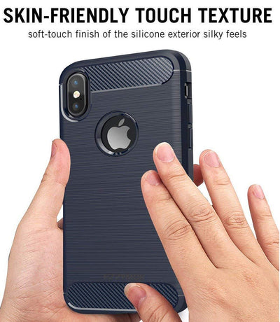 iPhone X & Xs Hybrid Soft Silicone Case