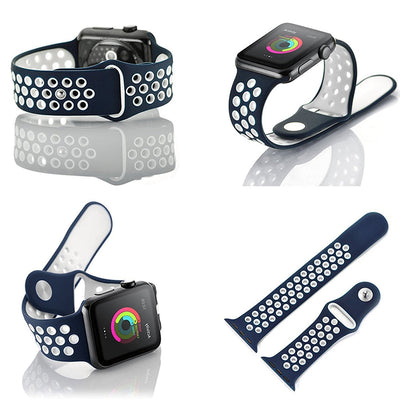 Silicone Strap for Apple iWatch 38 mm