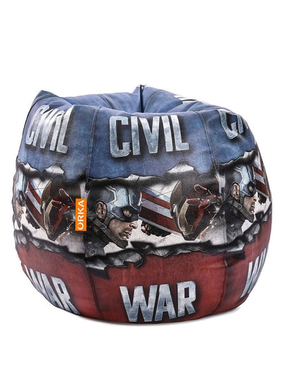 Marvel Civil War Bean Bag  (Cover)