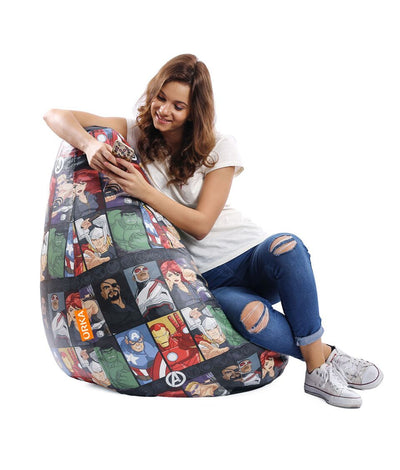Avengers Characters Bean Bag (Cover)