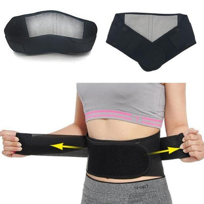 Self-Heating Magnetic Therapy Back Support