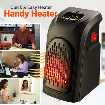 Handy Heater: Personal And Portable Digital Electric Heater